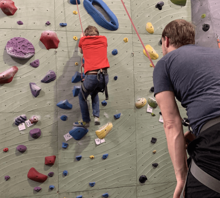 """On belay! How coaches support educators to """"climb on"""" through challenges"""